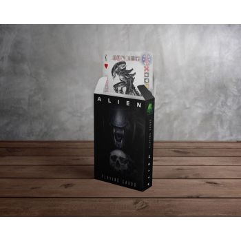 Alien jeu de cartes à jouer