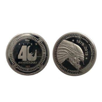 Alien pièce de collection 40th Anniversary Silver Edition