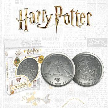 Harry Potter pack 4 sous-verres Leaky Cauldron