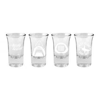 Les Dents de la Mer Set 4 verres à shot Logo & Symbols