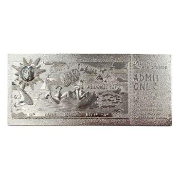 Les Dents de la Mer réplique Regatta Ticket Limited Edition (plaqué argent)