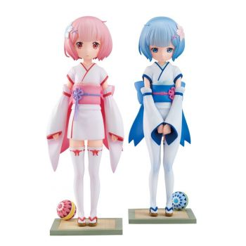 Re:ZERO -Starting Life in Another World- statuettes PVC 1/7 Rem & Ram Osanabi no Omoide 18 cm