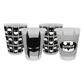 Batman pack 4 gobelets