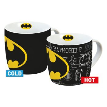 Batman mug effet thermique Logo