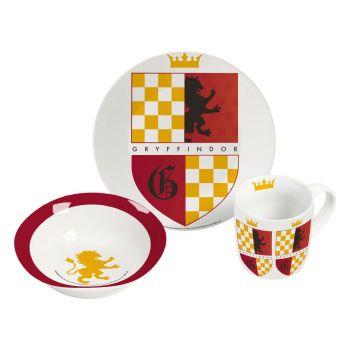 Harry Potter set petit-déjeuner Gryffondor --- EMBALLAGE ENDOMMAGE