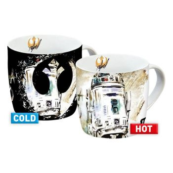 Star Wars IX mugs effet thermique R2-D2 (carton de 6)