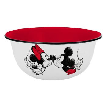 Disney bol Mickey Kiss Sketch Rouge