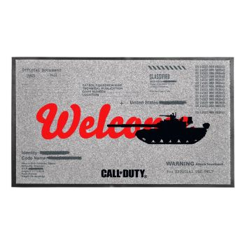 Call of Duty: Black Ops Cold War paillasson Welcome 44 x 75 cm