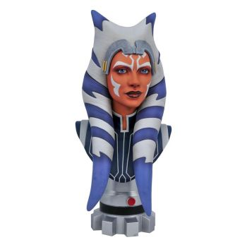 Star Wars The Clone Wars Legends in 3D buste 1/2 Ahsoka Tano 25 cm