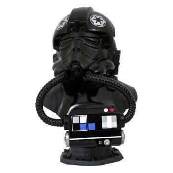Star Wars The Clone Wars Legends in 3D buste 1/2 TIE Pilot 25 cm