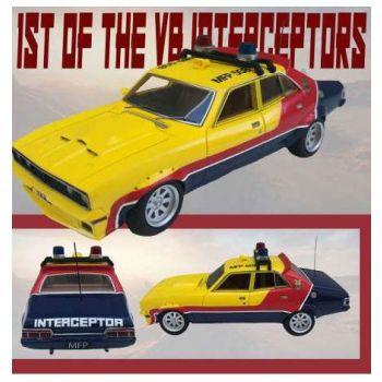 1st of the V8 Interceptors 1973 XB Ford Falcon V8 Police Interceptor 1/18 métal