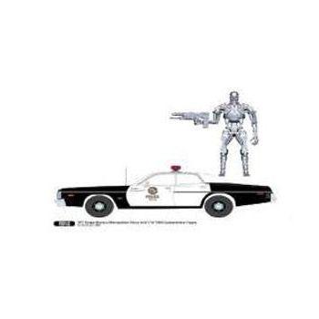 Terminator 1977 Dodge Monaco Metropolitan Police 1/18 métal