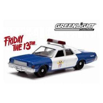 Vendredi 13 1978 Dodge Monaco Police 1/18 métal
