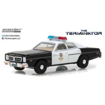 Terminator 1977 Dodge Monaco Metropolitan Police 1/64 métal
