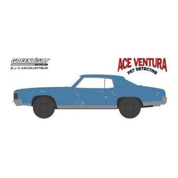 Ace Ventura, détective chiens et chats 1972 Chevrolet Monte Carlo 1/64 métal