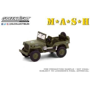 M*A*S*H 1942 Willys MB Jeep 1/64 métal