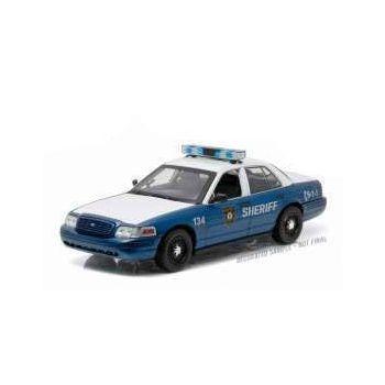 Walking Dead véhicule radiocommandé 1/18 2001 Ford Crown Victoria Police Interceptor