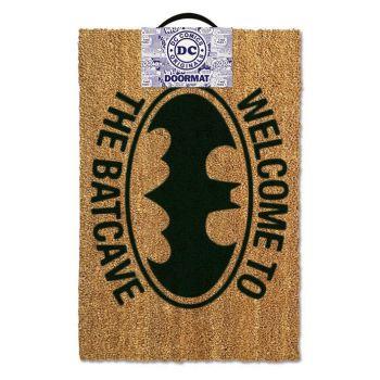 DC Comics paillasson Welcome To The Batcave 40 x 60 cm