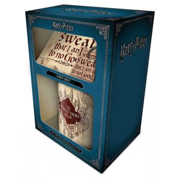 Harry Potter coffret cadeau Marauders Map