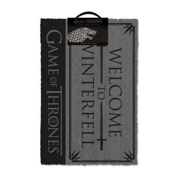 Le Trône de fer paillasson Welcome to Winterfell 40 x 57 cm