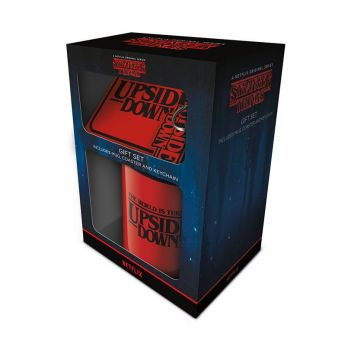 Stranger Things coffret cadeau The World Is Turning Upside Down
