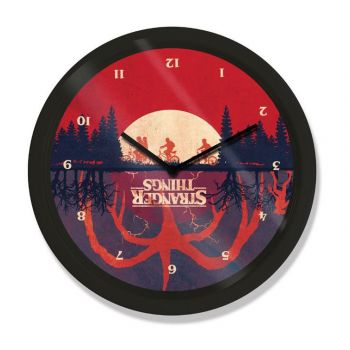 Stranger Things pendule Upside Down