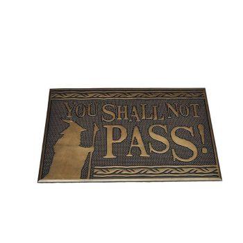 Le Seigneur des Anneaux paillasson You Shall Not Pass 40 x 60 cm