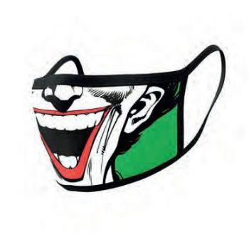 DC Comics pack 2 Masques en tissu Joker Face