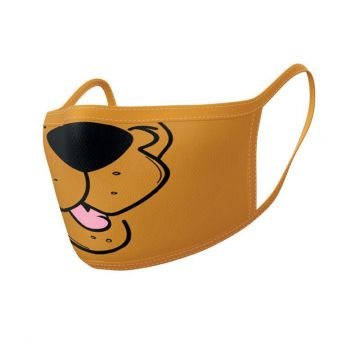 Scooby-Doo pack 2 Masques en tissu Mouth