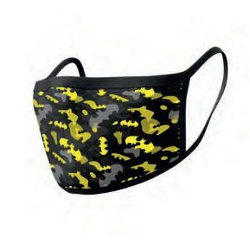 Batman pack 2 Masques en tissu Camo Yellow