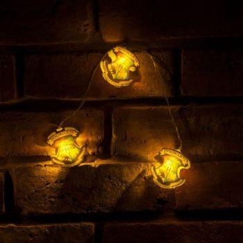 Harry Potter Lumières de Noël Hogwarts Crests