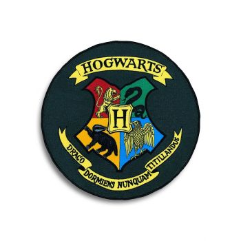 Harry Potter tapis Hogwarts Shield 100 x 100 cm