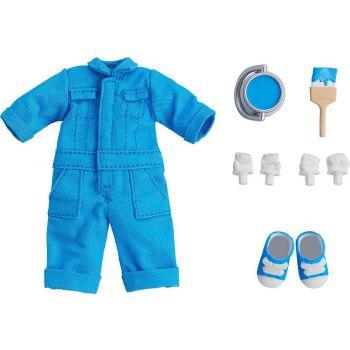 Original Character accessoires pour figurines Nendoroid Doll Outfit Set Colorful Coveralls - Blue