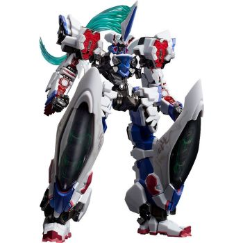 Deus Machina Demonbane figurine Diecast / PVC Hagane Works Demonbane 18 cm --- EMBALLAGE ENDOMMAGE