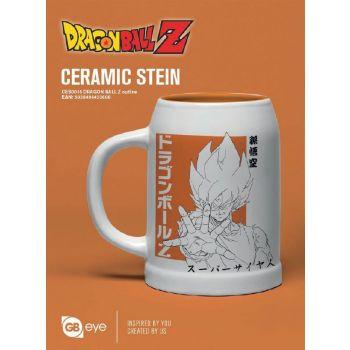 Dragon Ball Z chope céramique Outline