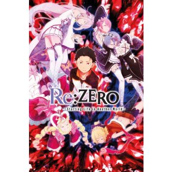 Re:Zero pack posters Key Art 61 x 91 cm (5)