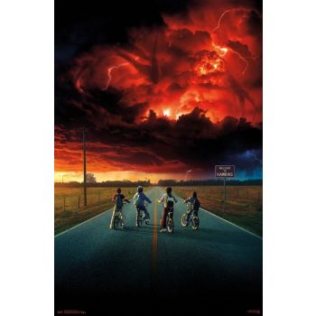 Stranger Things 2 pack posters Key Art 61 x 91 cm (5)