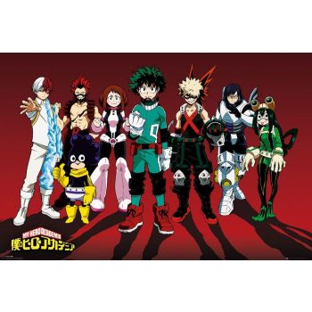 My Hero Academia pack posters Line Up 61 x 91 cm (5)