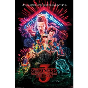 Stranger Things 3 pack posters One Sheet 61 x 91 cm (5)