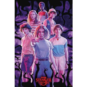Stranger Things 3 pack posters Group 61 x 91 cm (5)