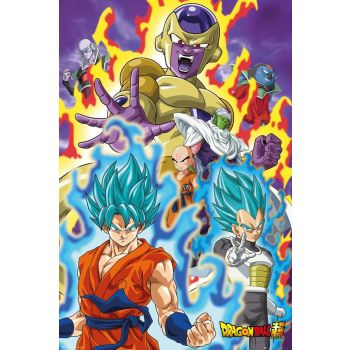 Dragon Ball Super pack posters God Super 61 x 91 cm (5)
