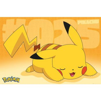 Pokémon pack posters Pikachu Asleep 61 x 91 cm (5)