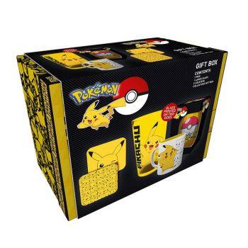 Pokémon coffret cadeau Pikachu
