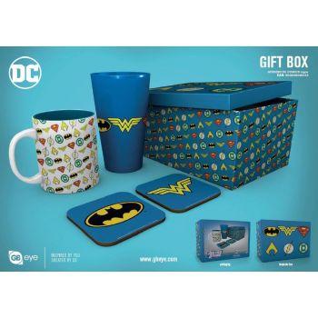 DC Comics coffret cadeau Logos