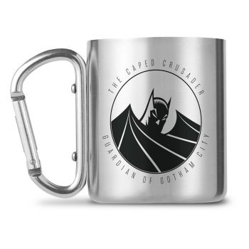 Batman mug Carabiner Caped Crusader