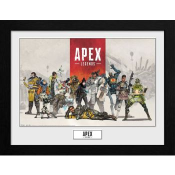 Apex Legends poster encadré Collector Print Group
