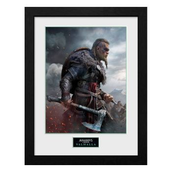 Assassins Creed Valhalla poster encadré Collector Print Ultimate Edition