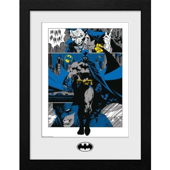 Batman poster encadré Collector Print Panels