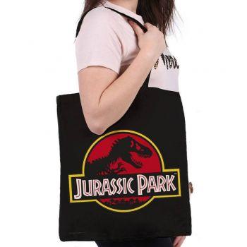 Jurassic Park sac shopping Logo