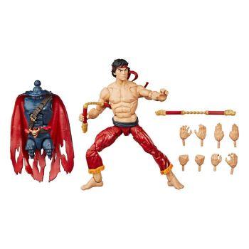 Marvel Legends Series figurine 2020 Chang-Chi (Master of Kung Fu Comics) 15 cm --- EMBALLAGE ENDOMMAGE